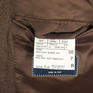 Canali Suits & Blazers - Canali Italy Full Canvas Silk Cashmere Sport Coat
